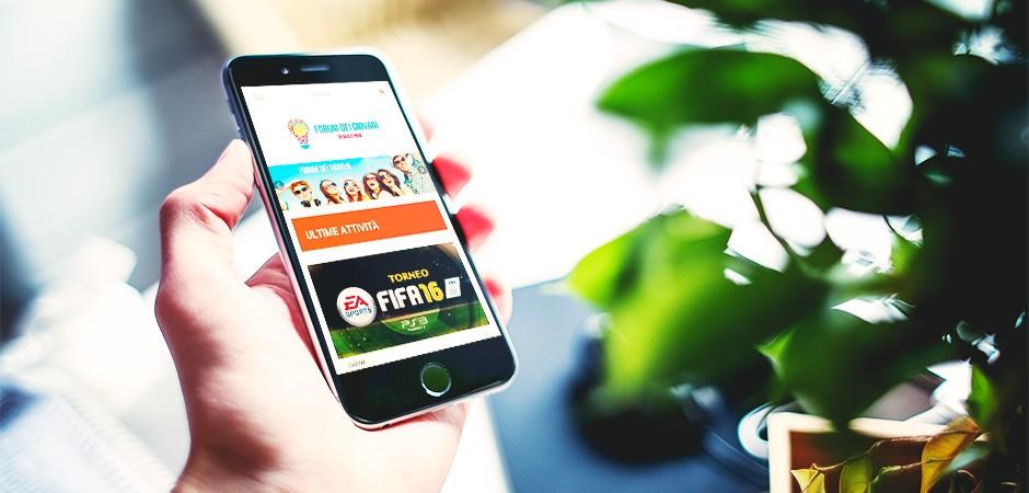 Forum dei giovani portfolio x5g siti web ecommerce for Annicchiarico arredamenti