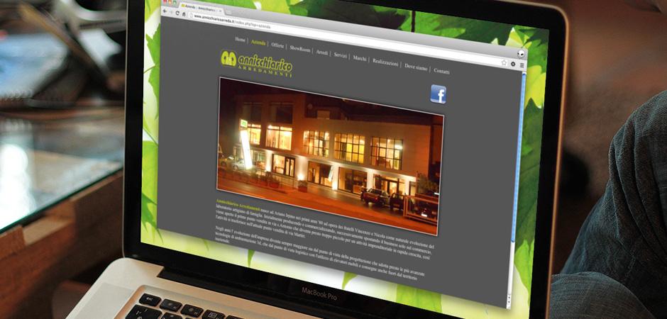 Annicchiarico arredamenti portfolio x5g siti web for Annicchiarico arredamenti